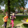 Kristýna a Nela v běhu na 500 m